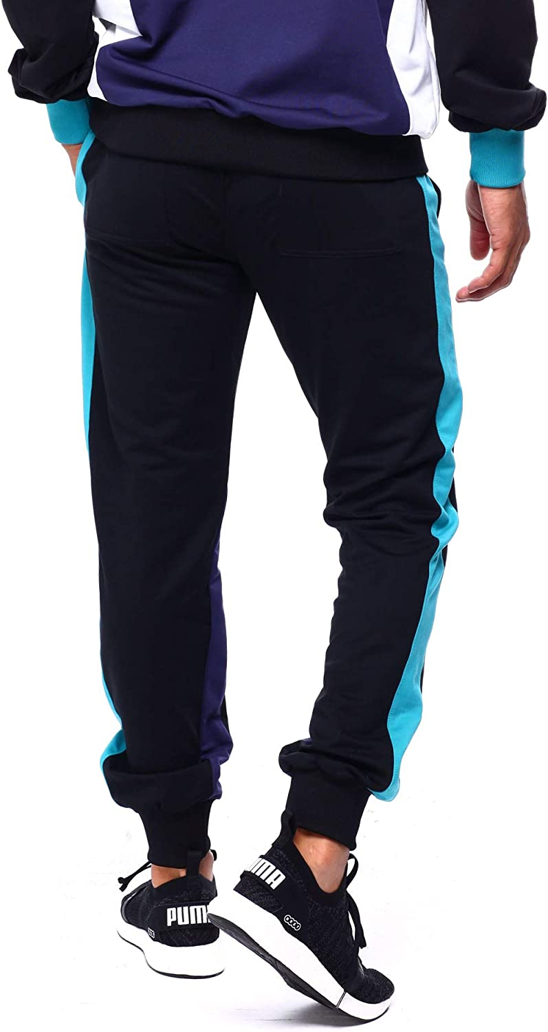 Le TIGRE Mens Retro Logo Jogger Sweatpants