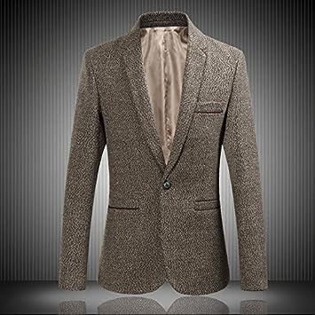 sndofej Uomini Vestiti di Moda dell Inverno Vestito di Giacca Uomini ... a74a4143c0a