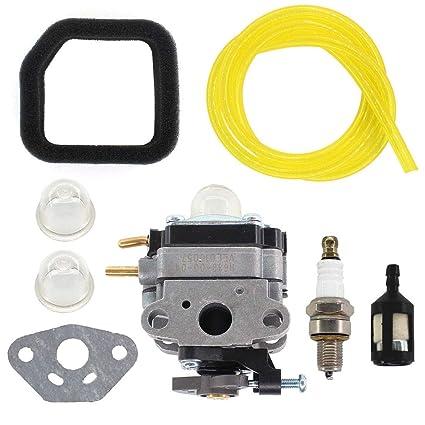 amazon com : uspeeda carburetor for mtd 753-06795 75306795 sears craftsman  gas generator fuel filter : garden & outdoor