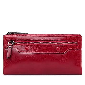 acheter populaire 2089c 59cb9 CXSHNH Portefeuille Femme Porte-Cartes Femme Porte Monnaie ...
