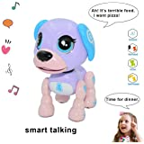 amdohai Interactive Puppy - Smart Pet, Electronic Robot Dog Toys for Age 3 4 5 6 7 8 Year Old Girls, Gifts Idea for Kids ● Vo