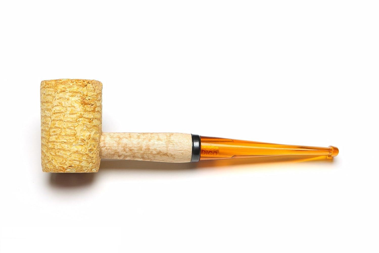 Missouri Meerschaum - Legend Corn Cob Tobacco Pipe - Flat, Straight Bit