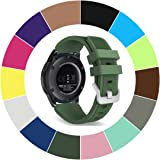 Midenso Bands for Gear S3 Frontier / Classic Watch Silicone Bracelet, Sports Silicone Band Strap Replacement Wristband For Samsung Gear S3 Frontier / S3 Classic, Large (US Version)
