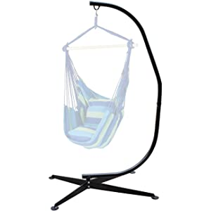 Sorbus Hammock Chair Stand For Hanging Chairs, Swings, Loungers, 330 Pound  Capacity,