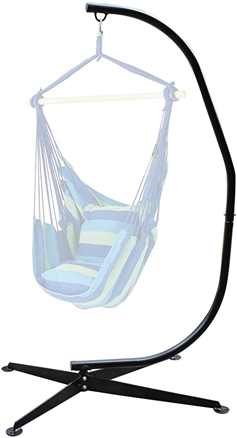 hanging chair with stand Amazon.: Sorbus Hammock Chair Stand for Hanging Chairs, C  hanging chair with stand