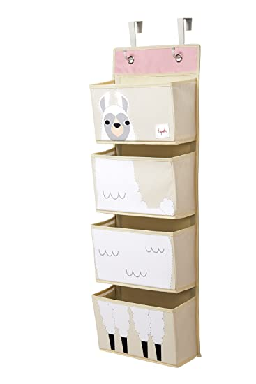 63bd357c6 Amazon.com   3 Sprouts Hanging Wall Organizer- Storage for Nursery ...