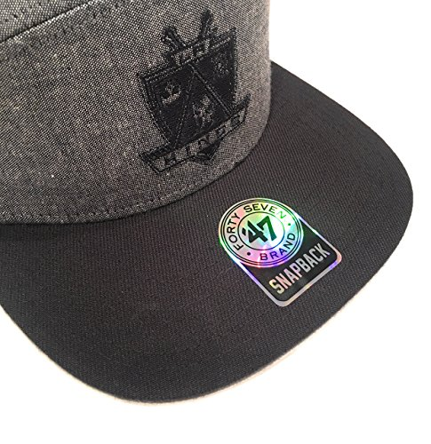 '47 Brand - Gorra de béisbol - para Hombre Gris Gris Y Negro Talla única