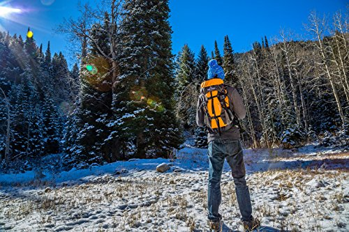 Teton Sports Summit 1500 Ultralight Backpack; Lightweight Daypack; Durable Hiking Backpack for Camping, Hunting, and Travel; Just the Right Size for a Quick Getaway; Don't Settle for the Basics by Teton Sports (Image #5)