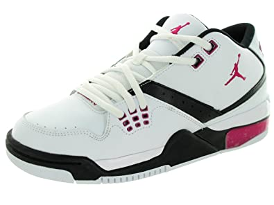 e5d3a727d49d3e Nike Jordan Kids Jordan Flight 23 GG White Sport Fuchia Black Basketball  Shoe 5