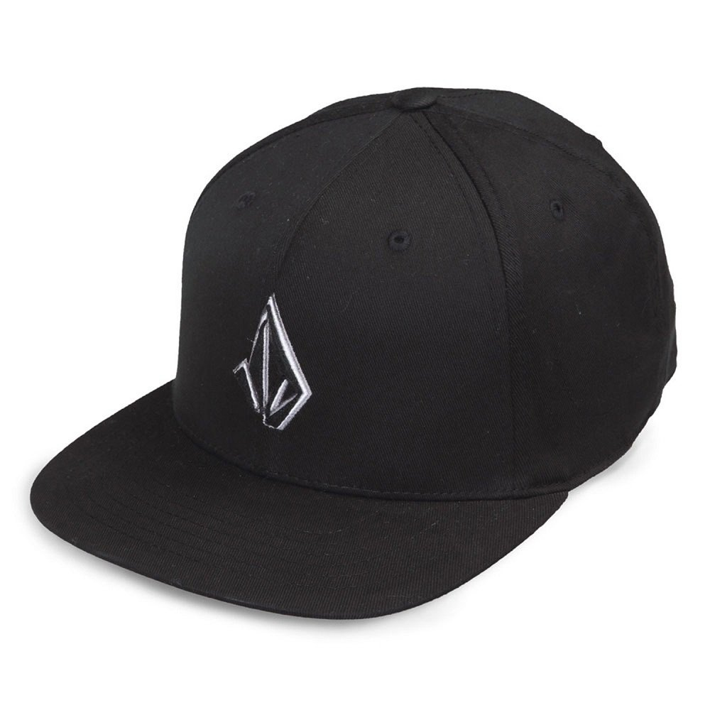 Volcom SEMISTONE Hat - Gorra de béisbol para Hombre, Color Black ...