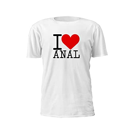 a6d9346201 I Love Anal T-Shirt (Medium): Amazon.co.uk: Kitchen & Home