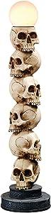 Design Toscano Skulls Spire Lighted Sculpture