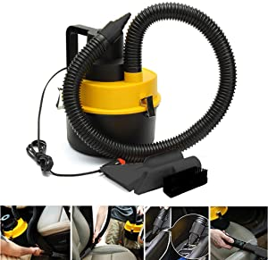 US Stock Car Vacuum Cleaner Hand Held, Retractable Vacuum Cleaning Dust, Small Hair, Lightweight & Strong Power Wet Dry Vac,Easy to Carry