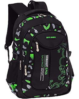 Escuela mochila Portátil Backpack Casual Impermeable Mochila Niños Adolescentes…