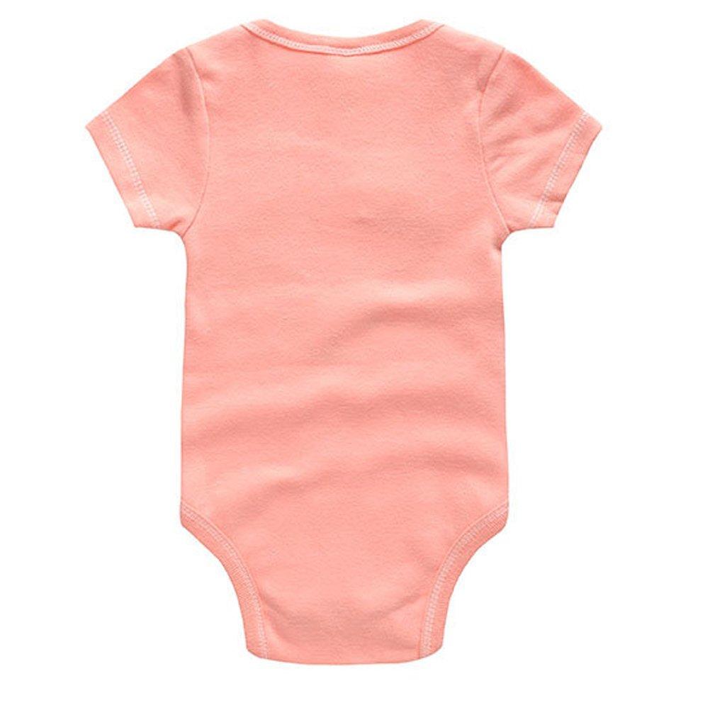 ARAUS Body Neonato Pagliaccetto Manica Corta Tute Bimbo Outfits Confezione da 2 0-9 Mesi