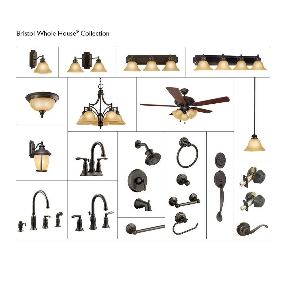 Design House 538421 Calisto Towel Ring, Oil Rubbed Bronze