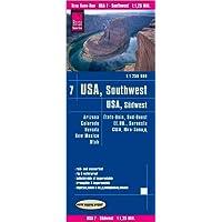 Reise Know-How Landkarte USA 07, Südwest (1:1.250.000) : Arizona, Colorado, Nevada, Utah, New Mexico: reiß- und wasserfest (world mapping project)
