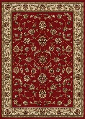Amazon Com New Chateau S1 Burgundy Oriental Persian Style