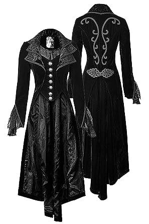 Amazon.com: YEAXLUD - Chaqueta gótica para mujer, estilo ...