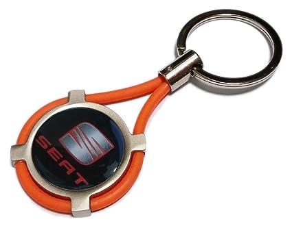 Llavero con insignia de Seat para modelos Ibiza, Leon, Mii ...