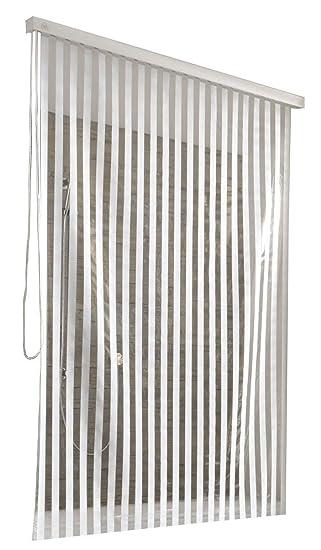 Kleine Wolke 3321100747 Duschrollo Leerkassette 128 X 240 Cm Weiss Mit Streifen