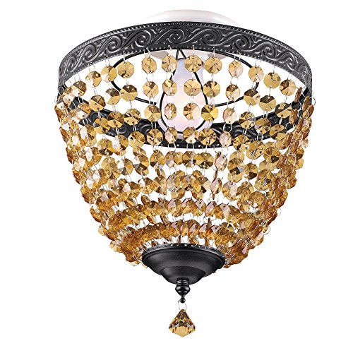 Translucent Beaded Ceiling Light Cover