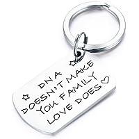 CJ&M Stepdad Keychain, Stepfather Gift, Gift for Step Dad, Step Parent Keychain, Step Mother Gift, Fathers Day Gift for Stepdad, Bonus Dad