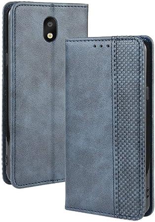 LAGUI Funda para LG K30 2019, Carcasa Tipo Libro Protector Magnético y Plegable de PU Soporte de Ranuras para Tarjetas, Azul: Amazon.es: Electrónica
