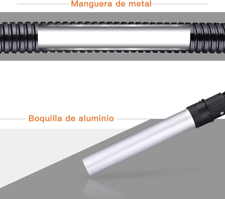 TACKLIFE Accesorio para Aspirador de Cenizas PVC03A FB01A 4 Piezas Tela No Tejida