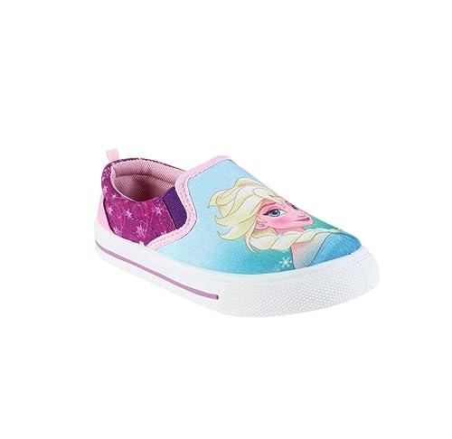 bb5ec2533 Frozen - Zapatillas Bajas para niña - azul