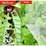 Agfabric 10x20ft Mosquito, Garden Bug Insect Netting,Insect barrier Bird Net Barrier Hunting Blind Garden Netting