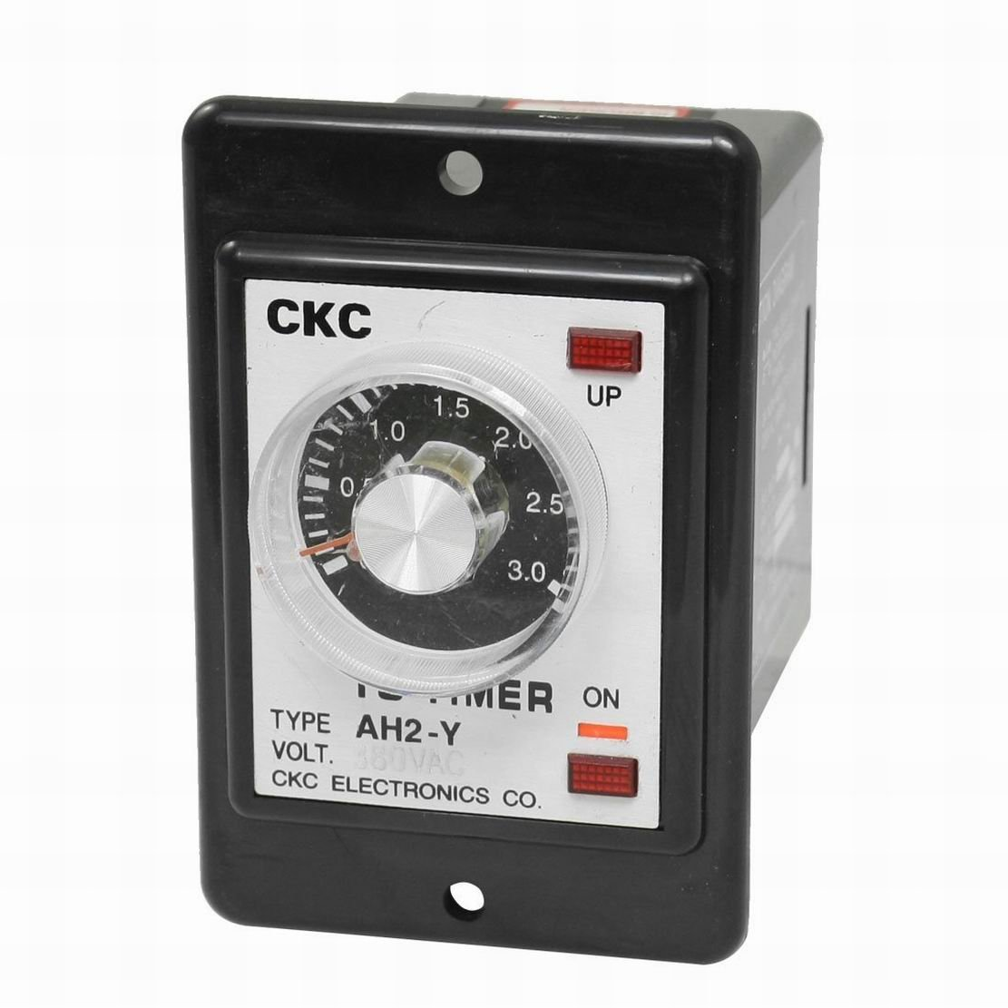 Uptell AH2-Y AC 380V 8-Pin DPDT 0-3 Hours 3H Power on Delay Timer Time Relay