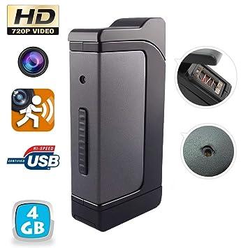 Yonis-Mechero con cámara espía en tirantes Usb Hd 720P-Cámara de 4 GB: Amazon.es: Electrónica