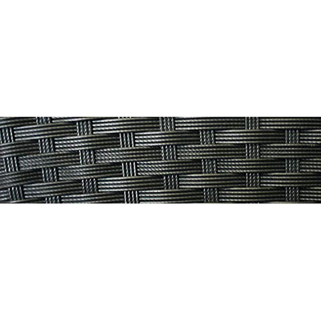 #106067 Beistelltisch Holme aus schwarzem Polyrattan KMH/®