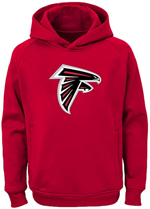 5c11dbda6 Outerstuff NFL Youth Team Color Performance Primary Logo Pullover  Sweatshirt Hoodie (Small 8