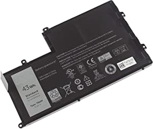 Batterymarket New TRHFF Replacement Laptop Battery Compatible with Dell Inspiron 15-5547 Maple 3C TRHFF 1V2F6 DL011307-PRR13G01 (11.1V 43Wh)