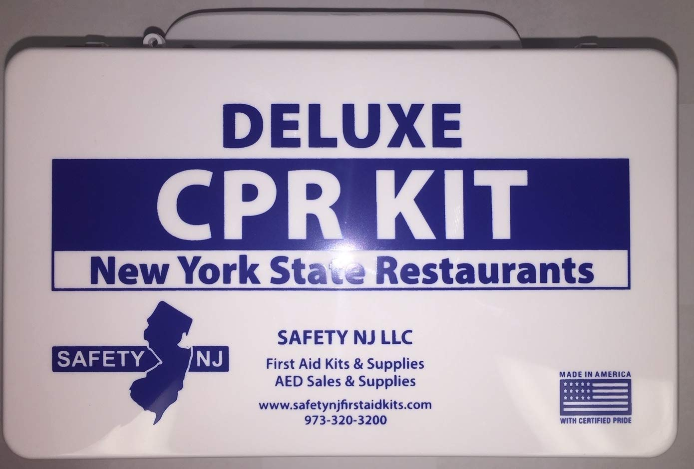 Amazon Deluxe Cpr Kit With Sign New York State Restaurants
