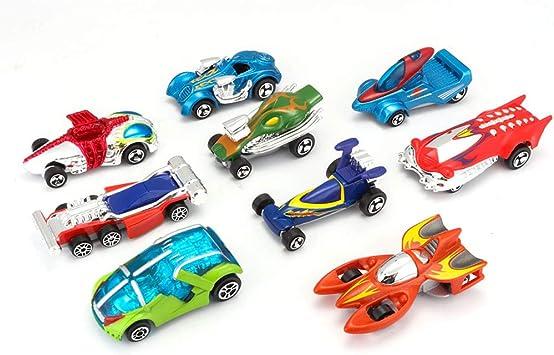 Carreras De Autos Y Vehículos De Regalos Car Pack 9 Paquete De ...