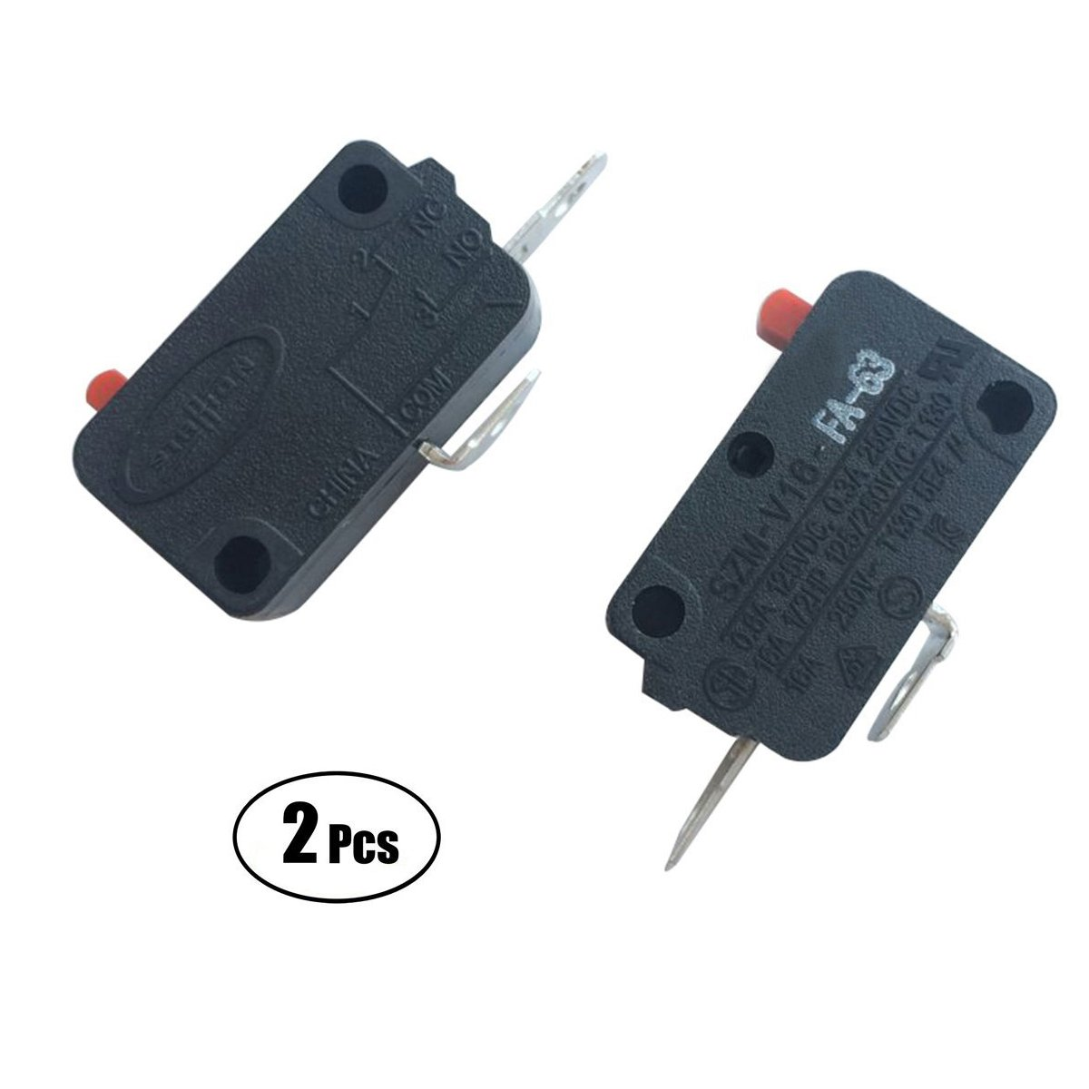 Lonye Pack Of 2 Szm V16 Fa 63 Microwave Oven Door Find Wiring Diagram For Lg Micro Switch Ge Starion Fd 63normally Open Home