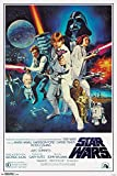 "Amazon Price History for:Trends International RP14810 Star Wars IV One sheet Collector's Edition Wall Poster, 24"" x 36"""