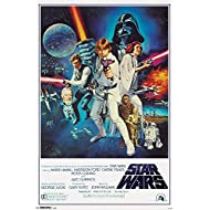 "Trends International Star Wars IV One sheet Collector's Edition Wall Poster 24"" x 36"""