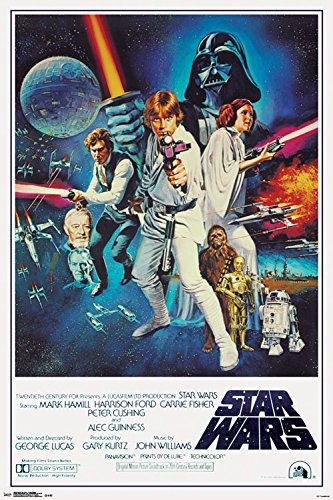 Trends International Star Wars IV One sheet Collector's Edition Wall Poster 24'' x 36'' by Trends International