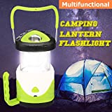 LED Camping Lantern Flashlights KingSo Multifunctional Hiking Lamp for Rescue Survival Emergencies Outdoor Tent Hurricanes Outages Fishing Entertainment - Battery Operated