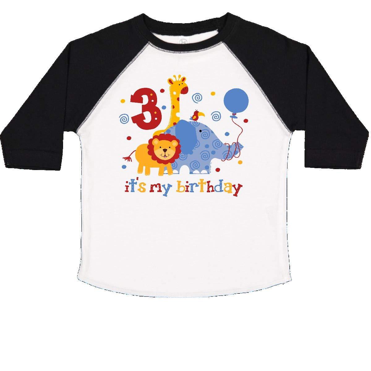 2fc6b712 Amazon.com: inktastic - Safari 3rd Birthday Toddler T-Shirt 11740: Clothing