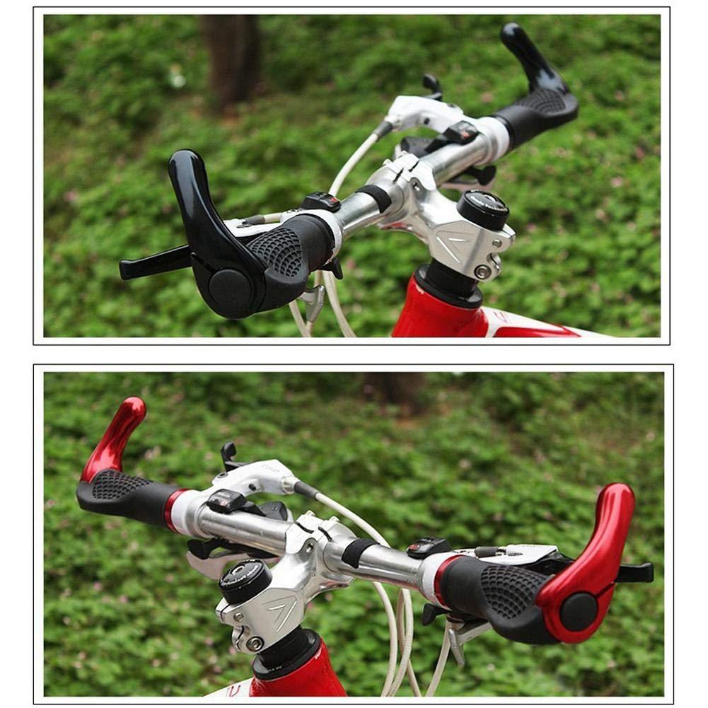 sincey couvre manillar cuernos /2.5/cm pu/ños de manillar de bicicleta de monta/ña de dise/ño ergon/ómico de goma adapt/ées al manillar de bicicleta 2.2/ de goma con extremos de barra