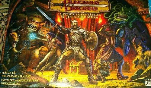 Dungeon Dragons : La aventura Fantastica . El juego de mesa.: Amazon.es: Juguetes y juegos