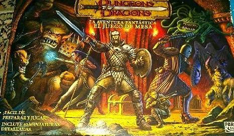 Dungeon Dragons : La aventura Fantastica . El juego de mesa ...