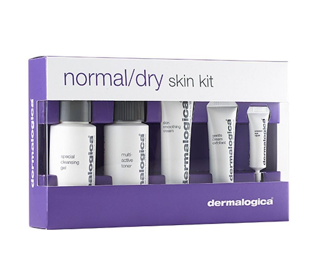 ダーマロジカ Normal/ Dry Skin Kit: Cleanser Cleanser + + Toner ダーマロジカ + Smoothing Cream + Exfoliant + Eye Reapir 5pcs B016425TT4, KINGS:d64ca3a9 --- forums.joybit.com