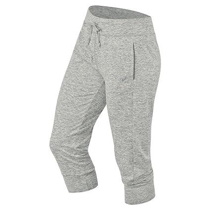 ASICS Women's ASX Lux Pants, Light Grey, Medium