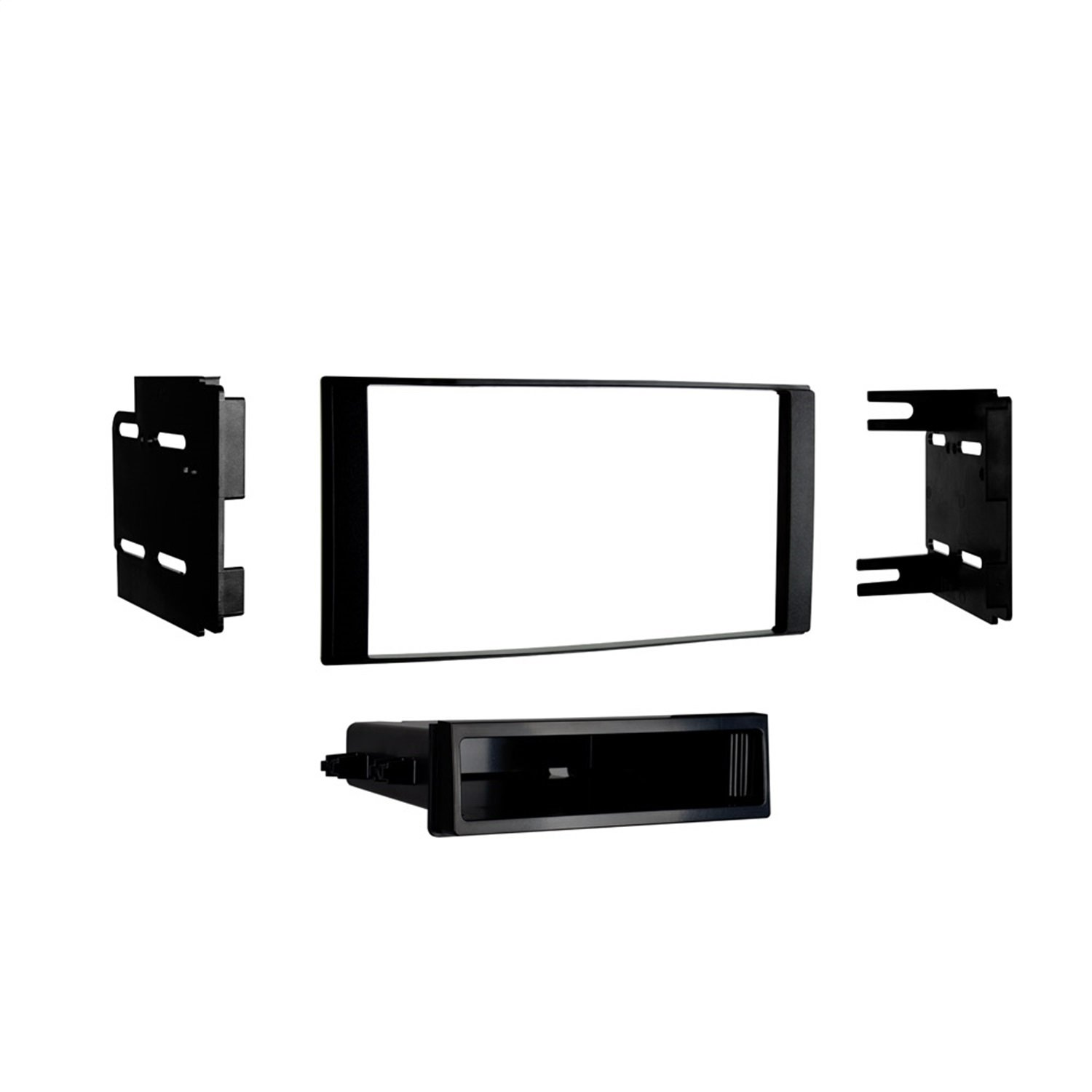 Metra 99-7621 Installation Dash Kit for 2014- Nissan Versa (Black)